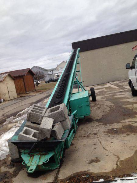 Used 52 Aeroil Roofing Conveyor 52 For Sale 518 218 7676