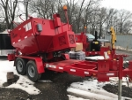 2017 DEMO 4 Ton Falcon Asphalt Recycler & Hot Box Trailer