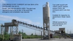 UNUSED - PUGMILL SYSTEMS 1500LS (1000+tph), 2 Bins, Silos Conveyor