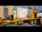 Lafarge Thermoplastic Paint Stripe Kettle Melter Trailer