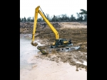 Remu E22 Big Float Amphibious Excavator