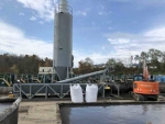 PavementGroup 300 barrel portable pugmill Silo