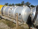 3800 Gallon Aluminum Water Tank
