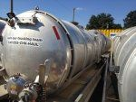 Used Vacuum Tanker Progress VA72 V-40989
