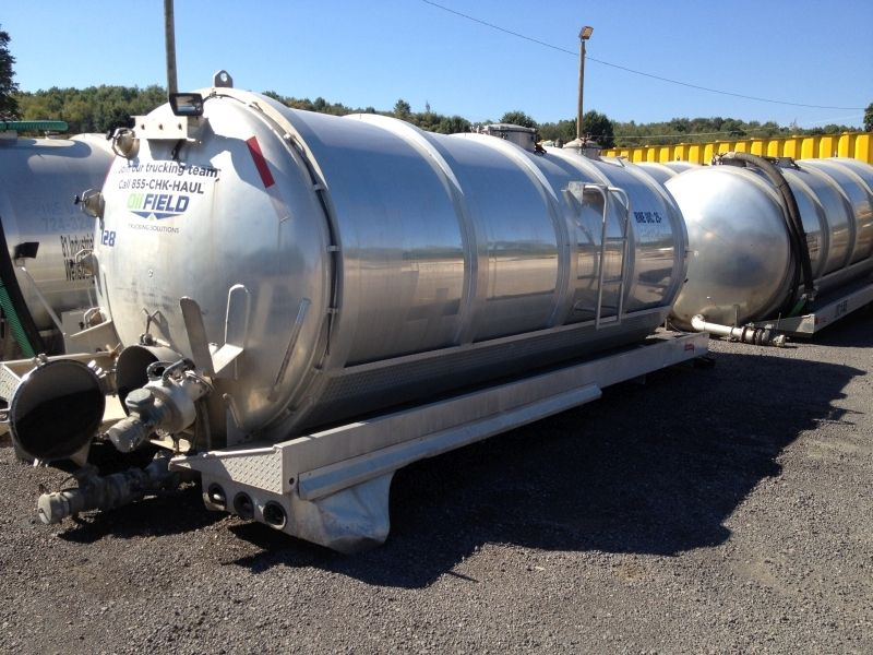 Used Water Tanks For Sale >> Used 2008 3800gal Aluminum Baffled Water Tank For Sale